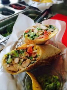 Hot Tacos (Burrito)